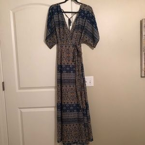 Vici boho backless dress NWOT